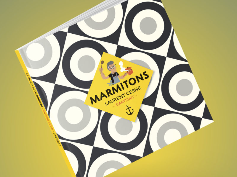 -MARMITONS- un recueil de 30 recettes marines